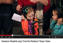 Newtown Students sing Over the Rainbow
