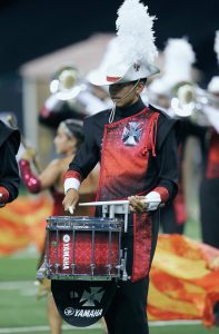 Crossmen performs Saturday, August 9, at the 2014 DCI World Championship Finals at Lucas Oil Stadium in Indianapolis, IN. The corps finished in 12th place with a score of 86.225.
