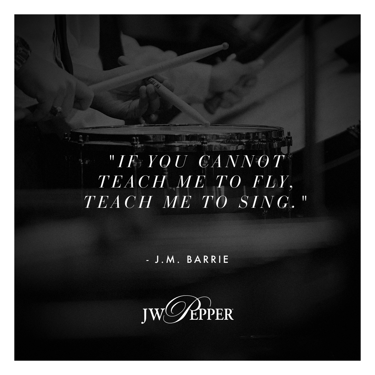 J. M. Barrie quote