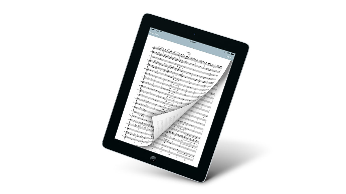 7.  A New Sheet Music App Adds More Digital Options