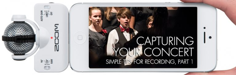 Capturing Your Concert: Simple Tips for Recording, Part 1