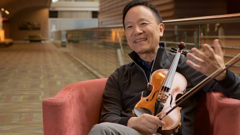 The Inside Voice: An Interview with Concertmaster David Kim
