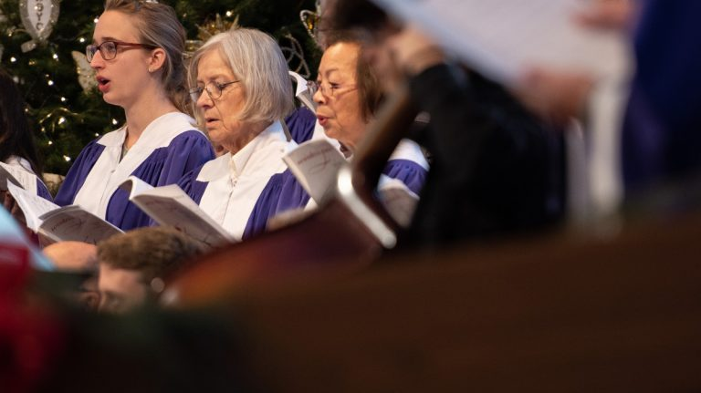 Multigenerational Singing in Church