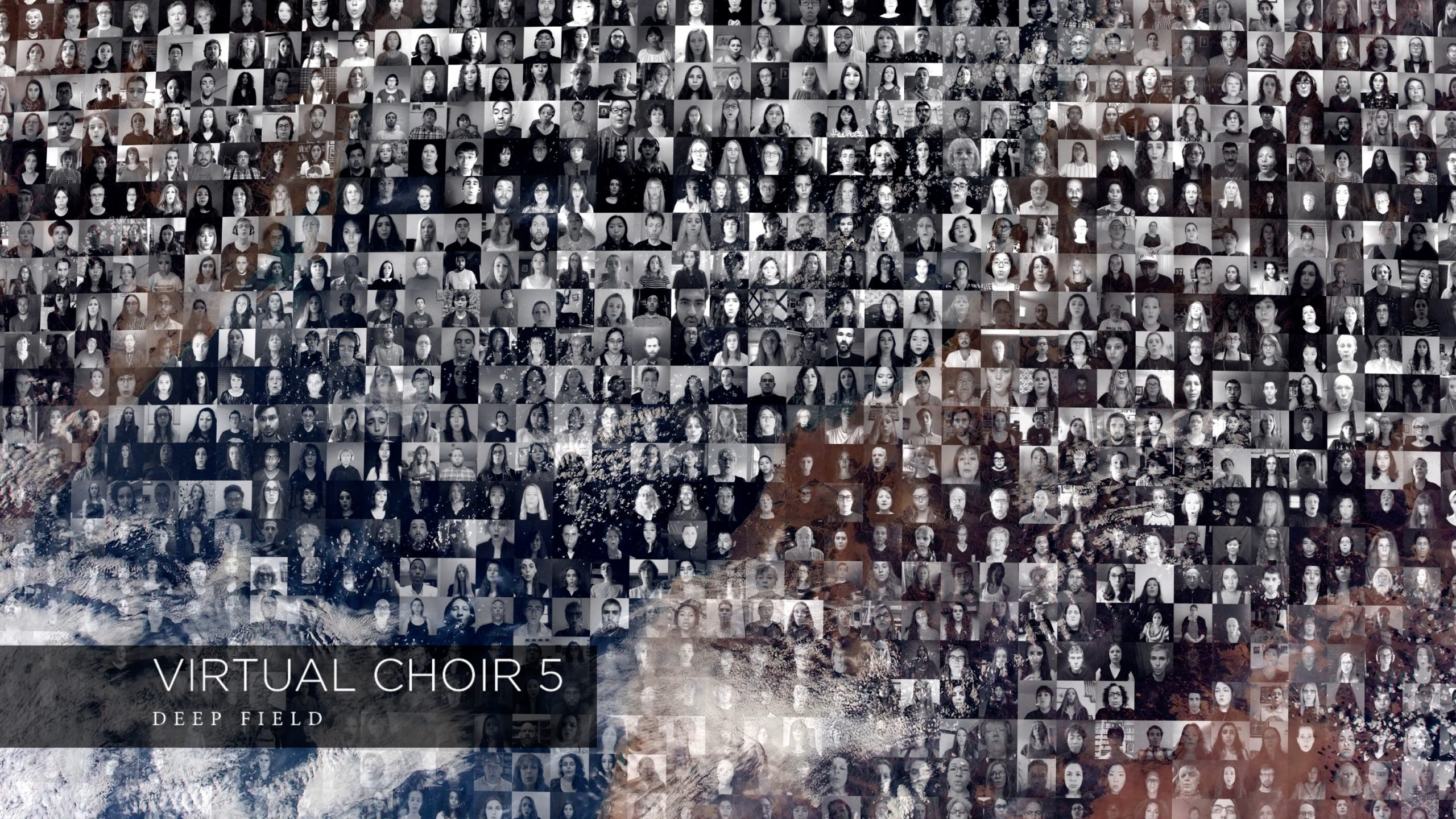The videos of singers participating in Virtual Choir 5