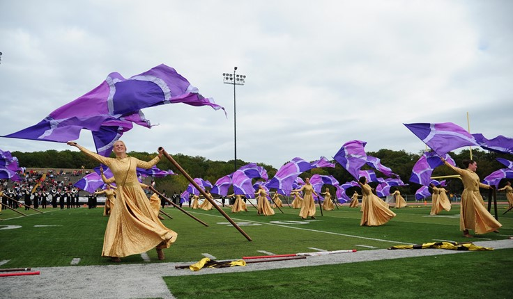 West Chester University's Marching Band