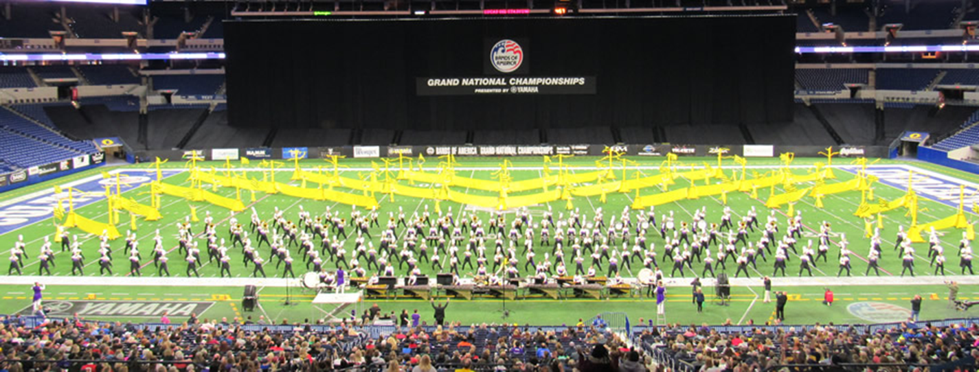West Chester University Golden Rams Marching Band