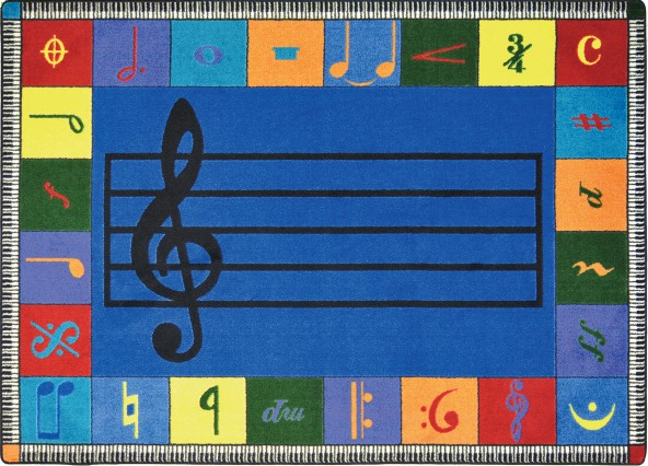 Music-Themed Carpets