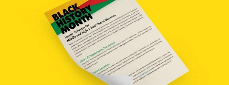 Black History Music Lesson Plans: Ideas for Music Teachers