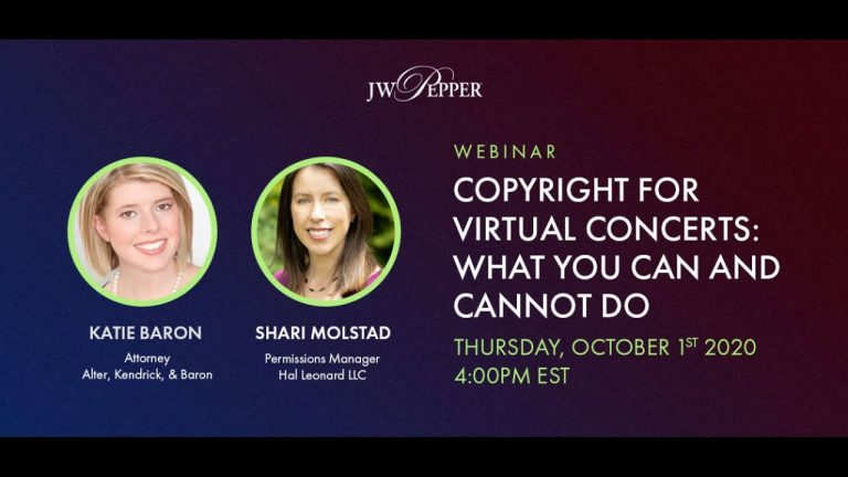 Copyright for Virtual Concerts: What You Can and Cannot Do