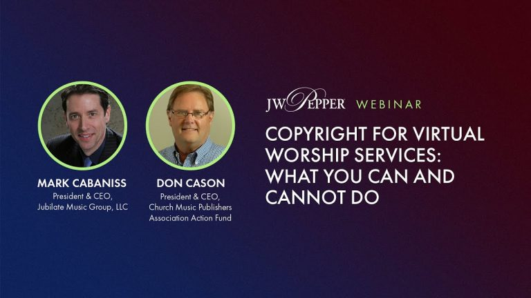 Copyright for Virtual Worship Services: What You Can and Cannot Do