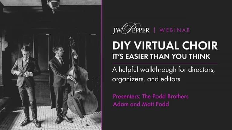 DIY Virtual Choir: It's Easier Than You Think!