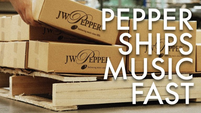 """Pepper Music's Answer to the Age-Old Question, """"Where's My Package?"""""""