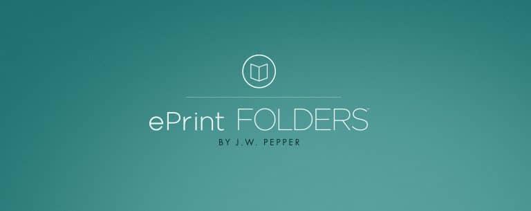 ePrint Folders: A Proposal for Administrators